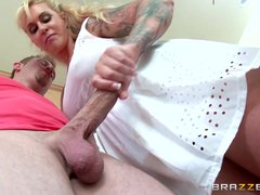 Preview 4 of Stepmom Takes Some Young Cock  - Brazzers