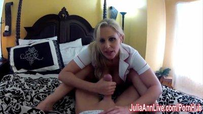 Nurse Julia Ann Fucks Her Patient into Recovery!