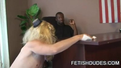 Hot Boi and Mark GalfTone: Hot Cross-Dress Humiliation Sex Scene