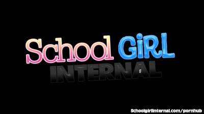 Redhead Schoolgirl Gets A Creampie Surprise