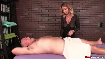 Dominant mature woman cock treatment