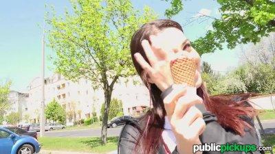 Mofos - Jessica Malone - Euro Tease Licks Cock