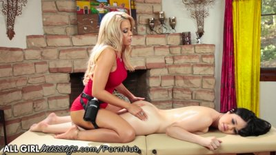 AllGirlMassage Luna Star scissors with Yhivi