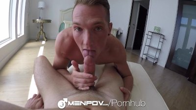 MenPOV - Hung Vincent James Fucks Jackson Cooper