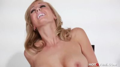 Horny Blonde Brett Rossi Fingers Herself
