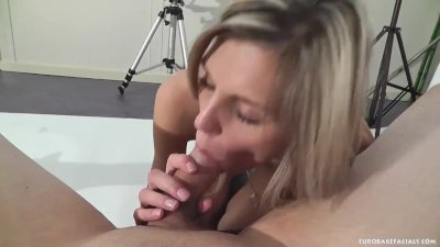 Eurobabefacials - Homemade facial blowjob