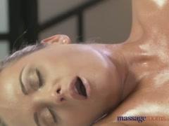 Massage RoomsTwo beautiful lesbians enjoy sensual and intense orgasms