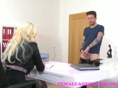 FemaleAgent English stud loves Czech pussy