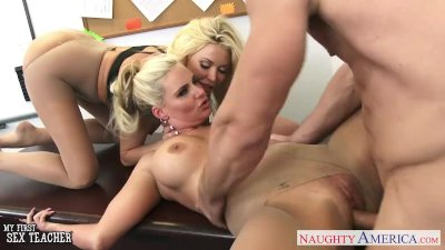 Busty blonde sex teachers Phoe