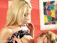 Preview 1 of Super Hot Iris And Suzie In Sapphic Erotica Lesbian Sex Scene