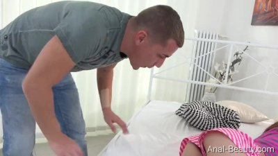 anal-Beauty.com - Elle Rose - Lovers make hard anal sex