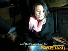 Preview 3 of Faketaxi Young Babe Fucked By Cabbie On Backseat