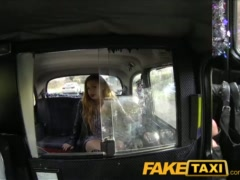 Preview 3 of Faketaxi British Babe With Big Tits Fucks In Public