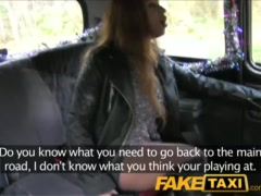 Preview 4 of Faketaxi British Babe With Big Tits Fucks In Public