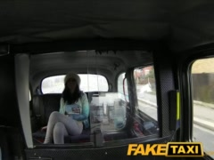 Preview 1 of Faketaxi Big Tits Tattoo Hottie Has Sex With Taxi Driver
