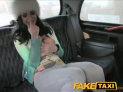 Preview 4 of Faketaxi Big Tits Tattoo Hottie Has Sex With Taxi Driver