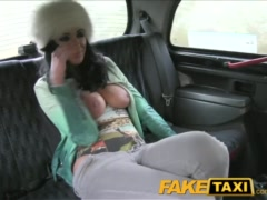 Preview 5 of Faketaxi Big Tits Tattoo Hottie Has Sex With Taxi Driver