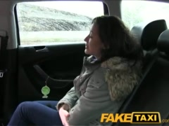 FakeTaxi Hot student lets cabbie cum in her mouth