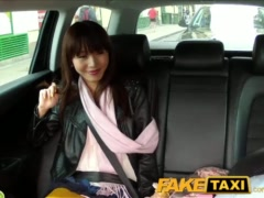 Preview 2 of Faketaxi Hot Asian Babe Banged On Taxi Backseat