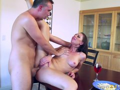 Preview 5 of Naughty Step Daughter Aidra Fox - Brazzers
