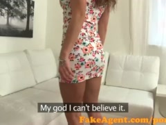 Preview 1 of Fakeagent Sexy Babe Wants To Be A Model In Casting