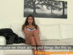 Preview 3 of Fakeagent Sexy Babe Wants To Be A Model In Casting