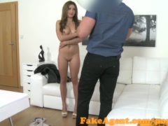 Preview 5 of Fakeagent Sexy Babe Wants To Be A Model In Casting