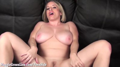 Your Busty Neighbor Maggie Green Wants You to Fuck Her!