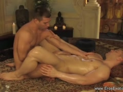 Anal Fingering And Erotic Massage