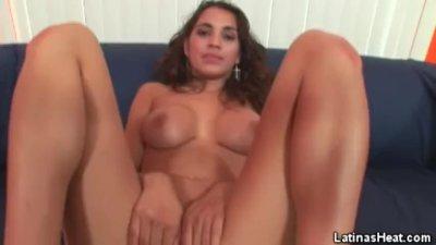 POV Big Tits Latina Babe Fucking