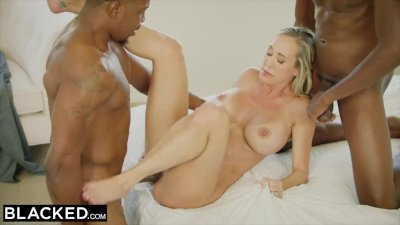 Blonde girl Monica gets her ass destroyed