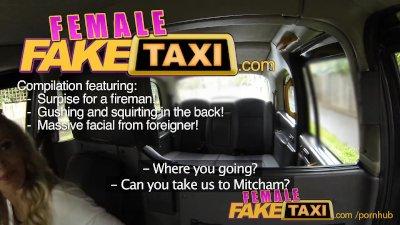 FemaleFakeTaxi - Firemans surp