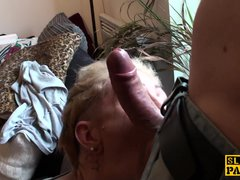 Preview 5 of Filthy Uk Submissive Ass And Throat Fucked