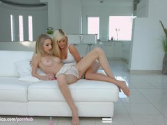 Preview 3 of Goldi And Candee Licious On Sapphic Erotica In Lesbian Sex Scene