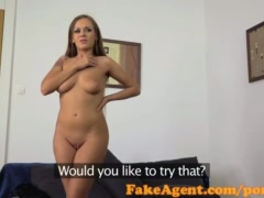 Preview 5 of Fakeagent Two Horny Friends Will Do Anything For A Job Part 1