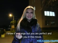 Preview 3 of Publicagent Park Bench Sex With Big Boobs