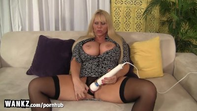 WANKZ - Busty Stepmom Caught Masturbating!