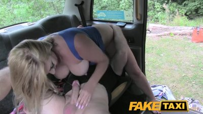 FakeTaxi Hot blonde on taxi ca