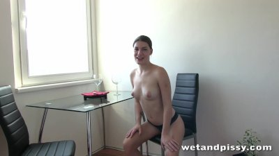 Meet this young and sexy pissing slut Xenia