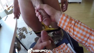 MenPOV - Gay Anal Fucking Shot POV