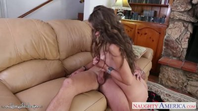 Dane Jones Naughty British blonde craves cock in her tight and wet pussy