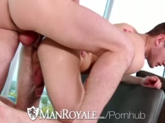 HD - ManRoyale New fuck toy is tested by the delivery guy