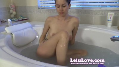Lelu Love-Shaving Legs Then Armpits Then Pussy