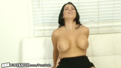 OutOfTheFamily Busty Mommy Squirts for Stepson