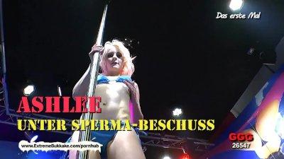 Ashlee Cox Vs Linda Lush vote the best cum slut- Extreme Bukkake
