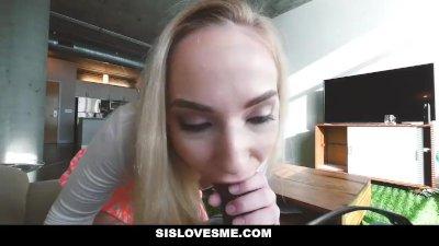 SisLovesMe - My Stepsister is Always Horny