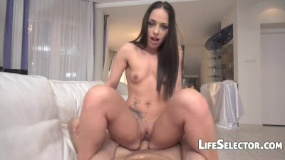 Horny girl Nomi Melon loves blowjob
