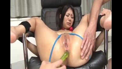 Harsh porn scenes during BDSM with Konatsu Hinata