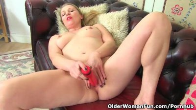 English milf Abi needs orgasmic pleasure