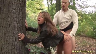 german busty sexy susi outdoor fucked